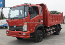 hot sale sinotruk 6 wheels diesel 62hp 3 to 5 ton mini dump truck