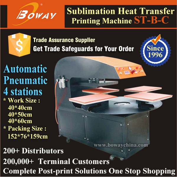 Ceramics plate heat transfer printing machine