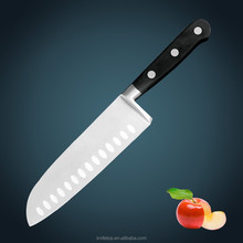 "Huiwill kitchen appliance Forged POM handle stainless steel knife 7"" Santoku/Chef knife"