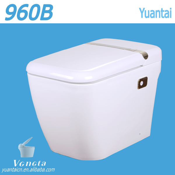 Wholesale luxury intelligent toilet for bathroom, Heated Seat, Auto Flush one piece smart toilet