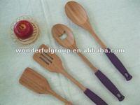Healthful Bamboo Silicone Handdle Kitchen Ware