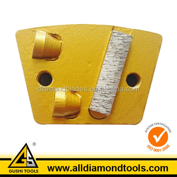 PCD Trapezoid Diamond Segments for Floor Grinding