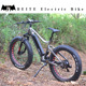 New 750W 48V big power Fat tire Mountain electric bike/750w snow electric bicycle dropship