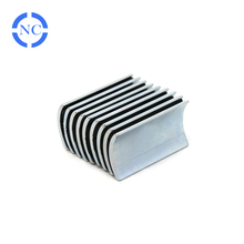 Good quality strong flexible ndfeb arc shape neodymium magnets for bicycle