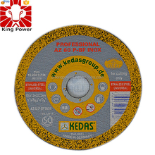 Abrasive cutting wheel for metal/stainless steel