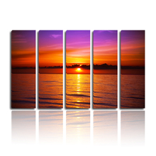 5-Piece Print Pictures Canvas Decorative Hanging Modern Decor Home Goods Wall Art