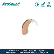 AcoSound AcoMate 410 BTE Voice Digital Supplies China Deaf Personal Ce Approved Super Quality Wholesale Hearing Suppliers