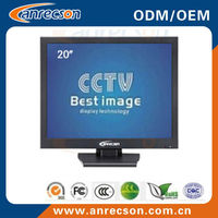 20 inch professional lcd security monitor with BNC