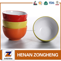 stock cheap custom color wholesale ceramic mixing soup salad bowl set