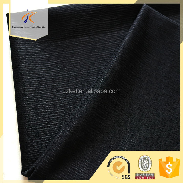 simple line pattern jacquard design for garment fabric