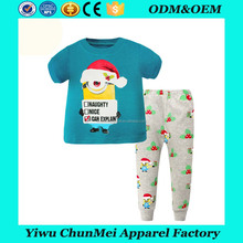 New Designs Pajamas Sets Cotton Shirts And Pants Kids New Style Pajamas Children Sleepwear For kids