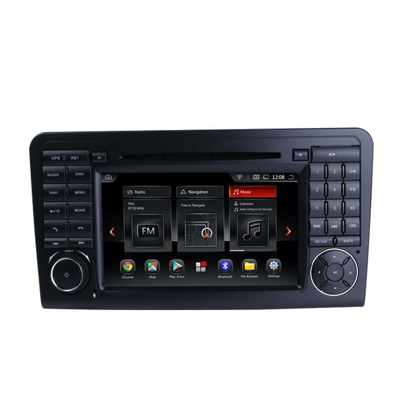 Android 8.0 Octa Core Car <strong>DVD</strong> GPS Player For Mercedes Benz ML <strong>W164</strong> W300 ML350 ML450 ML500 GL X164 GL350 GL450 GL500 Radio Stere