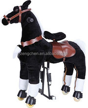 Hot funny toys!! EN71 walking horse toy, Mechanical horse toys, toy horse on wheels