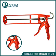 "9"" semi-circle iron economy caulking gun with G type hook"