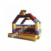 Newest sale good quality durable inflatable castle indoor playground
