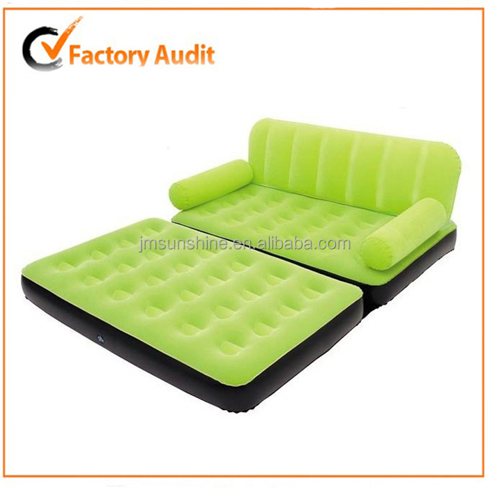 Blue 5 in 1 air sofa bed