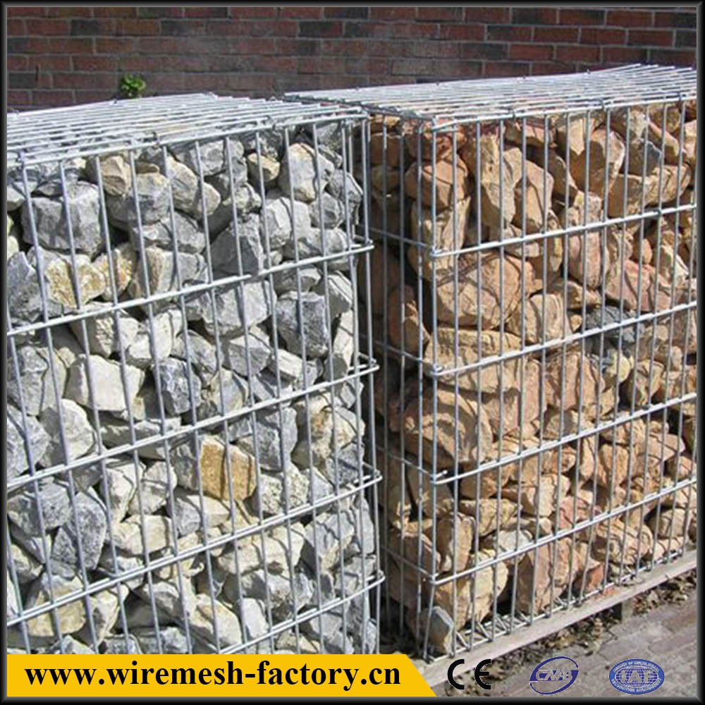 galvanized round and rectangle and square protective welded gabion box