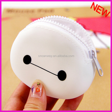 P-01 round sahpe zipper purse wholesale zipper coin purse