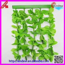 new design green plastic window door leaf curtains XDCZ-003