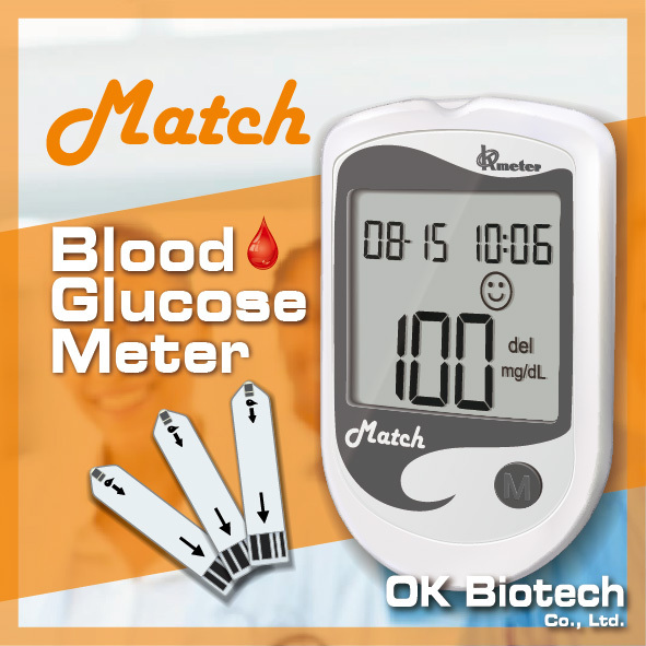 Diabetes Test - No Coding Blood Glucometer