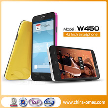 OMES 4.5inch Android 4.2 3G WIFI ROM 4G RAM 1G Smart Mobile Phone