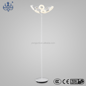 decorative lava rechargeable cordless modern led floor lamp for hotel