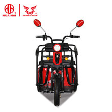 2018 three 3 wheel chinese open electric tricycle scooter bicycle for adults sale 48v500w from zongshen