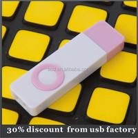 oem bulk 4GB plastic usb flash drive 2.0