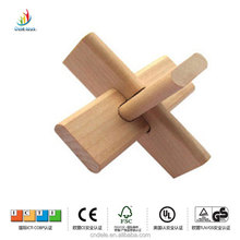 2014 wholesale hot toy Europe natural lotus wood educational wooden block adult toy