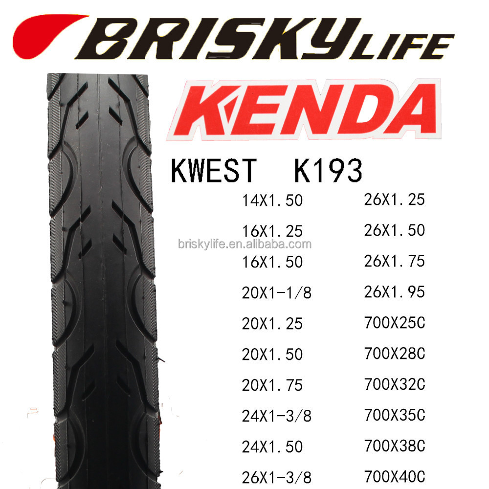 KENDA KWEST K193 BIke Tire City Bike tyre High Speed MTB Bicycle tire