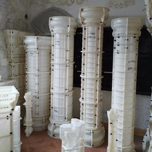 ,Plastic concrete mould square column, concrete roman mold/ pillar mould