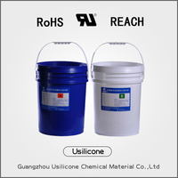 silicone pouring sealant for electronic component