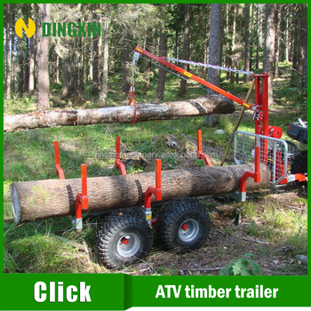 2016 hot sales atv timber trailer