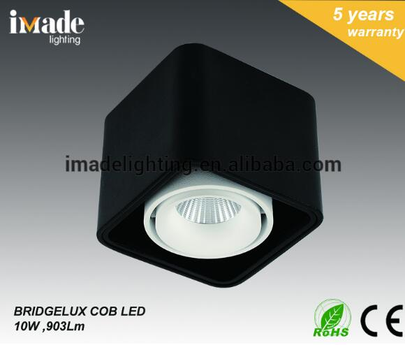 Best selling aluminum CE VDE RoHS COB LED surface mounted downlight ceiling light