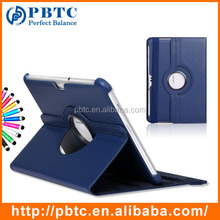 "Set Screen Protector Stylus And Case For Samsung Galaxy Tab 2 10.0 P5100 , Dark Blue 10.1"" Shockproof Leather Flip Tablet Case"