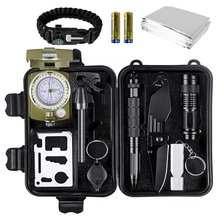 Multifunctional Hot Sale Customized Items Emergency Survival SOS Kit First Aid Survival Self-help Outdoor kit