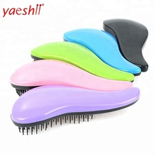 Yaeshii Hot Product customized detangling hair brush Detangling Brush Boar bristle Detangler Hair Comb