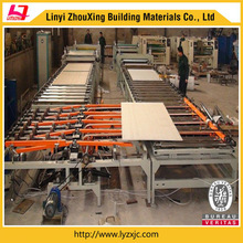 gypsum plaster board/sheets production line with Knauf technology
