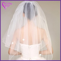 Best prices elegant wedding bridal veil