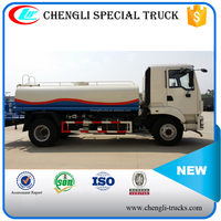 Shacman 6 Wheeler 4*2 190hp 10000 liters Water Truck Water Carrier Truck
