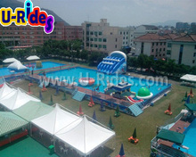 Giant Commercial Aqua Inflatable Water Theme Park For Kids and Adults