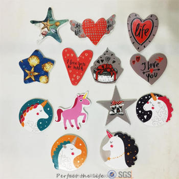 New style Ceramic cheap custom fridge magnets for home decoration