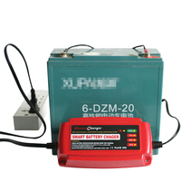 12V 5A CE approved Smart fast 4 cells li-ion battery electric lawn mower or garden tool charger