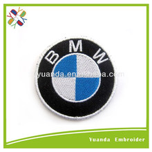 custom hot name and car logo embroidery patch and emblem