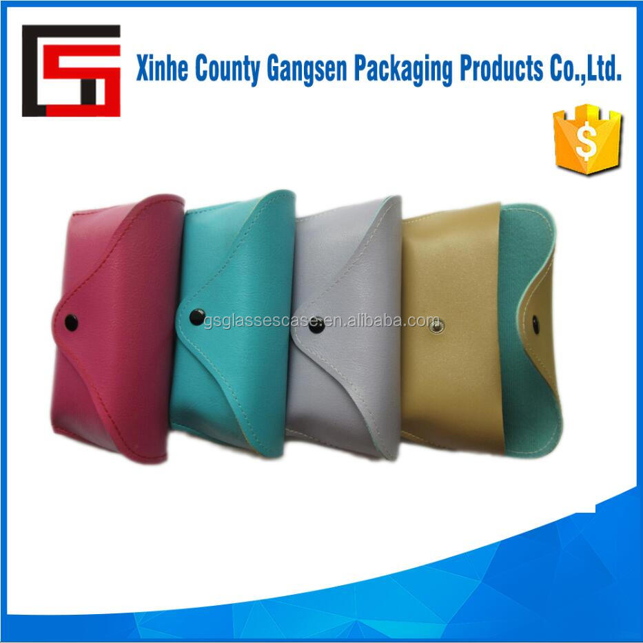 Custom soft glasses case, PU leather sunglass case