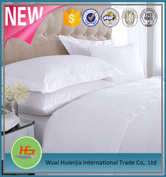 White Poly Cotton King Size 4 piece Sheets Sets