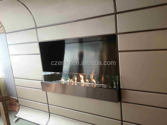 2015 Modern New Style Wall Mounted Ethanol Fireplace with many Colors and Sizes options