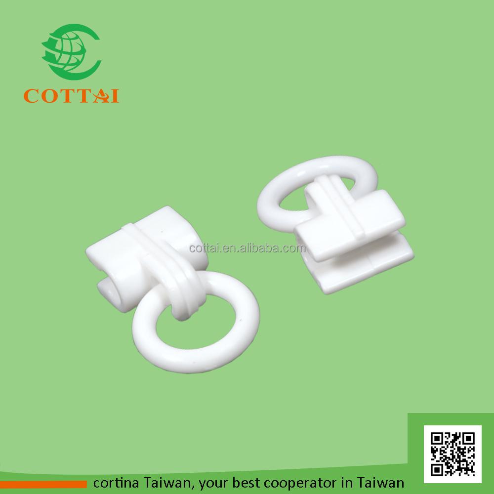Roman Shade Rings Part - 43: COTTAI Roman Shade Parts Plastic Cord Guide Ring