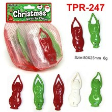 Novelty Soft Plastic Stretchy Flying Christmas Toys