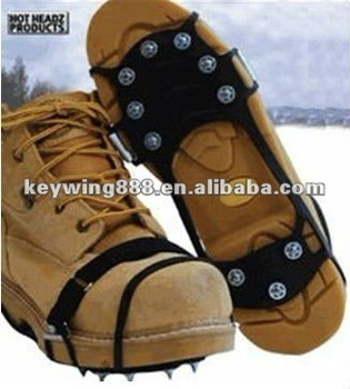 CE!!! Anti-slip nature rubber ice shoe spike